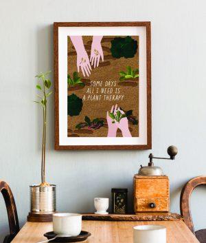 Plakát Plant therapy